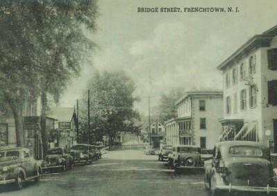 bridge st. old cars