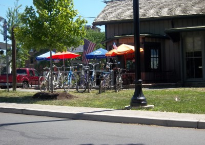 cafe bike rack