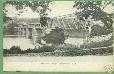 old postcard Ftown Bridge