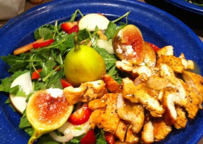 chicken n fig salad
